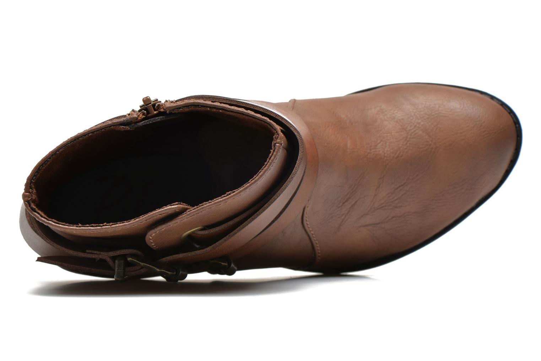 Bottines et boots Blowfish Sworn Marron vue gauche