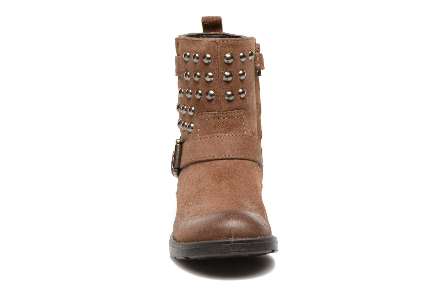 Ankle boots Geox J Sofia C Brown model view