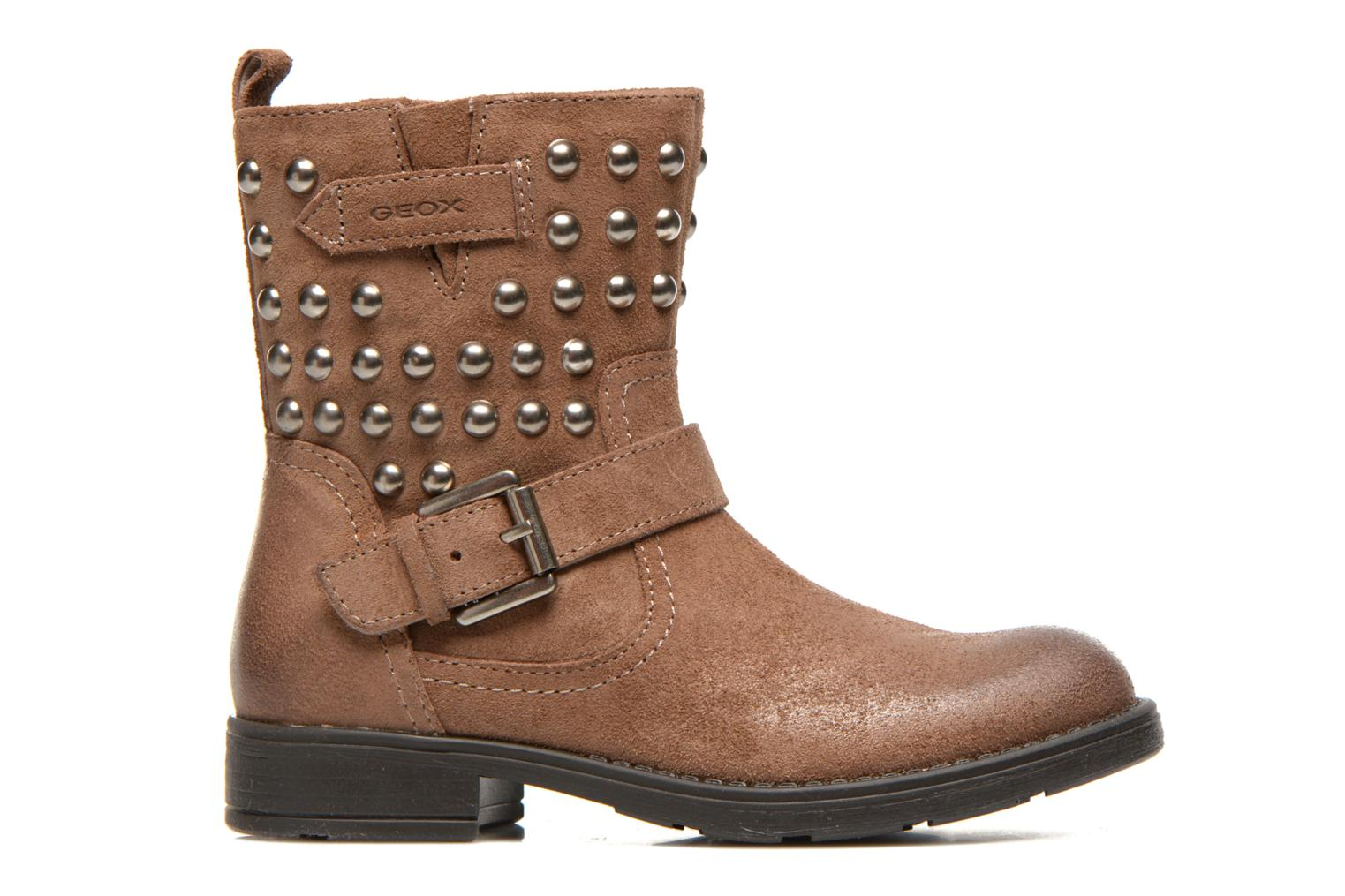 Ankle boots Geox J Sofia C Brown back view