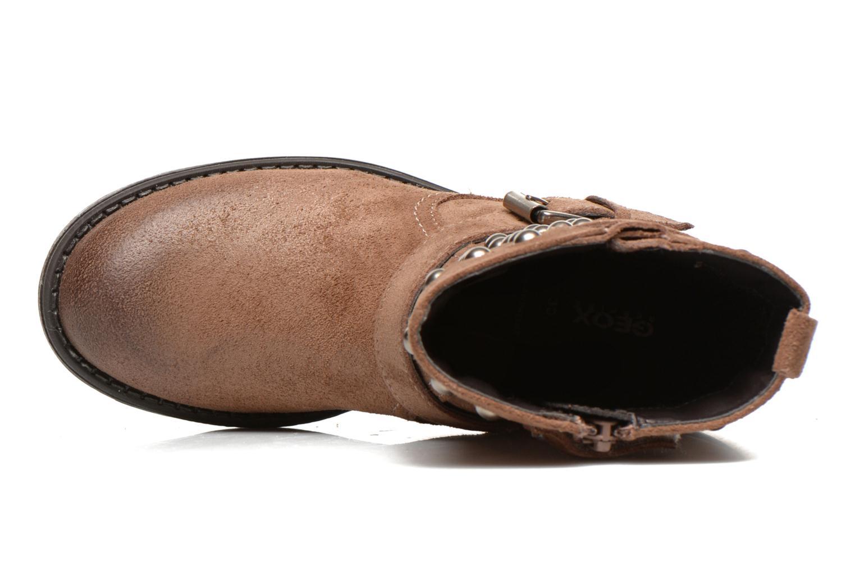 Bottines et boots Geox J Sofia C Marron vue gauche