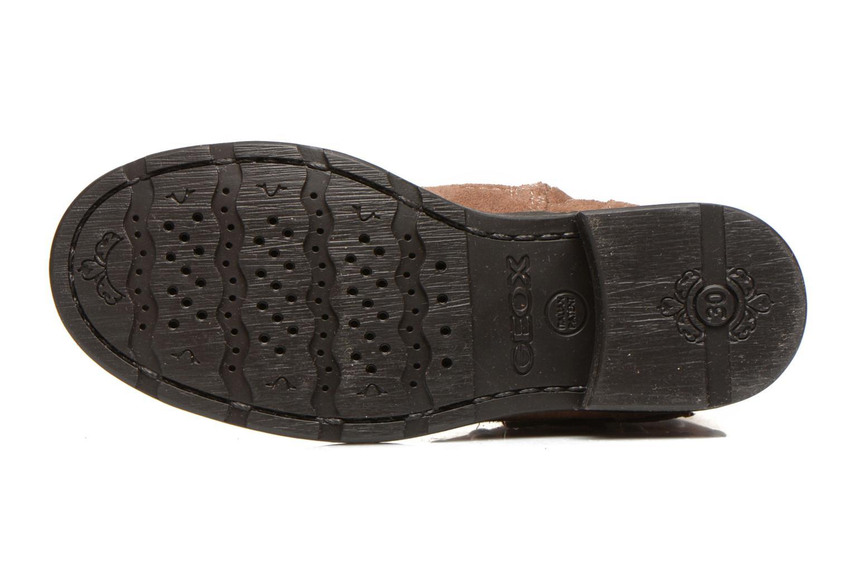 Stiefeletten & Boots Geox J Sofia C braun ansicht von oben