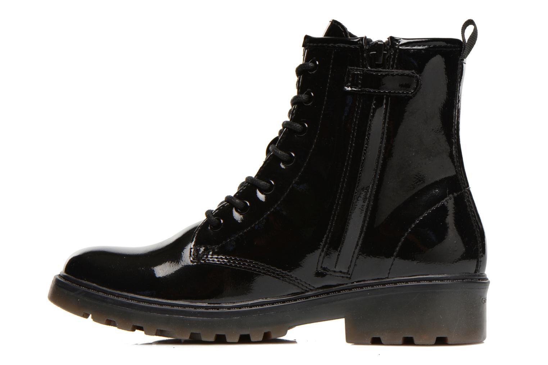 Stiefeletten & Boots Geox J Casey G. K J5420K schwarz ansicht von vorne