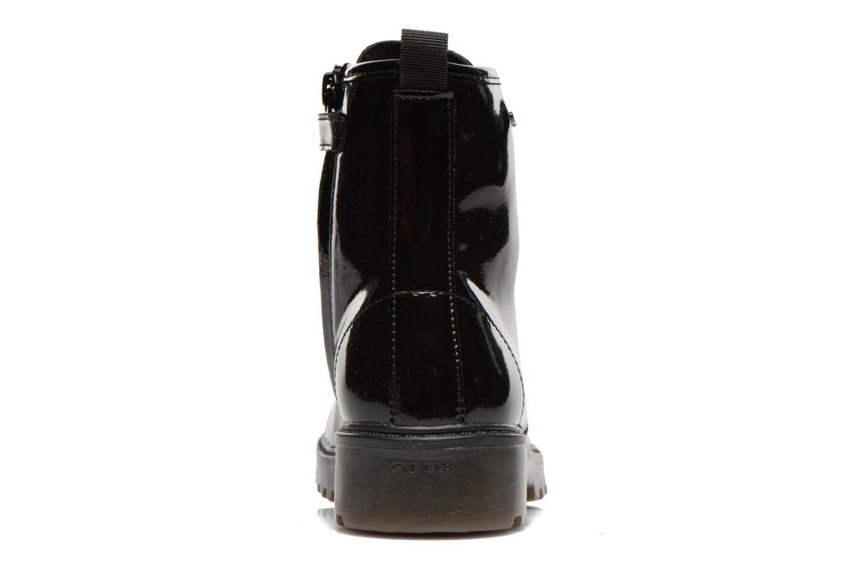Bottines et boots Geox J Casey G. K J5420K Noir vue droite