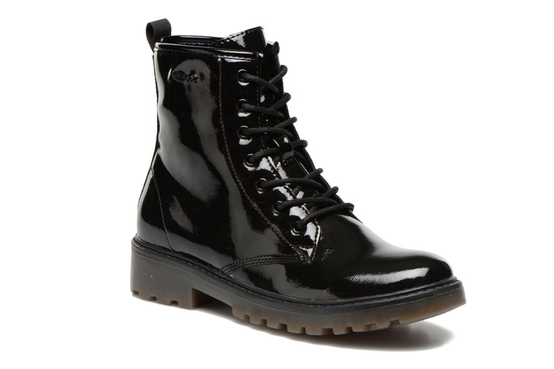 Geox J Casey G Petit Fille Bottes Noir Noir - Livraison Gratuite avec  - Chaussures Bottine Femme