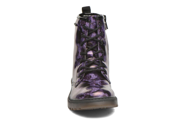 Bottines et boots Geox J Casey G. K J5420K Violet vue portées chaussures