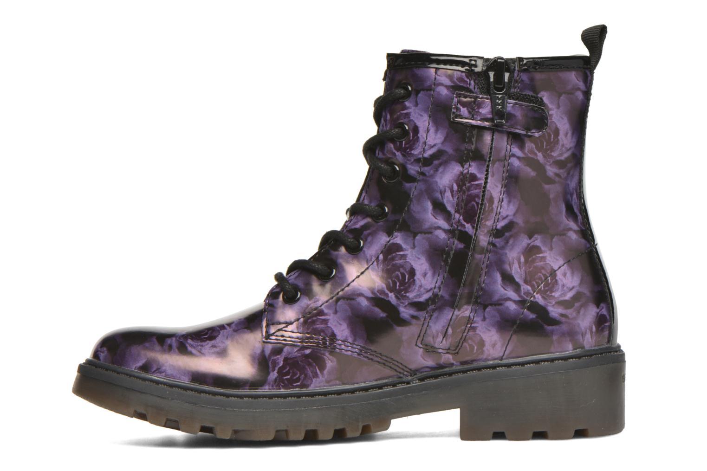 Bottines et boots Geox J Casey G. K J5420K Violet vue face