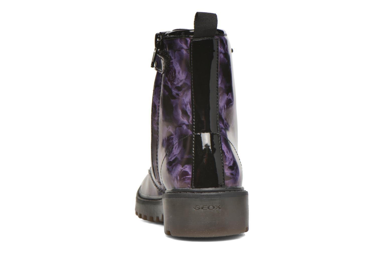 Bottines et boots Geox J Casey G. K J5420K Violet vue droite