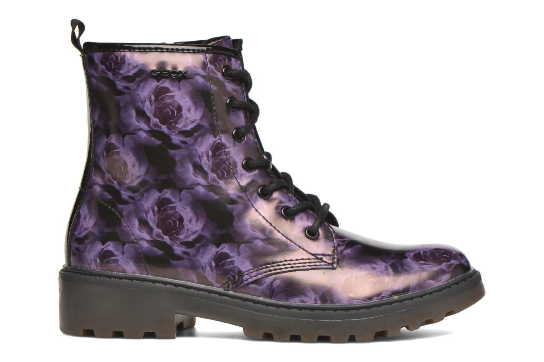 Bottines et boots Geox J Casey G. K J5420K Violet vue derrière