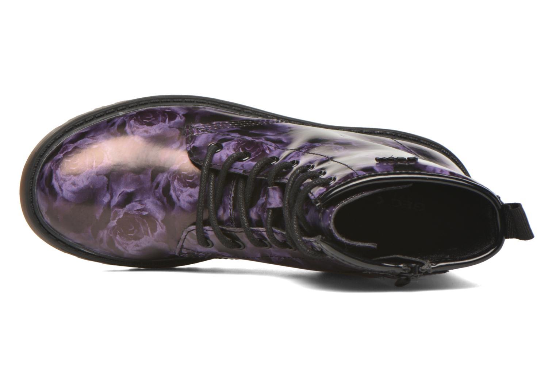 Bottines et boots Geox J Casey G. K J5420K Violet vue gauche