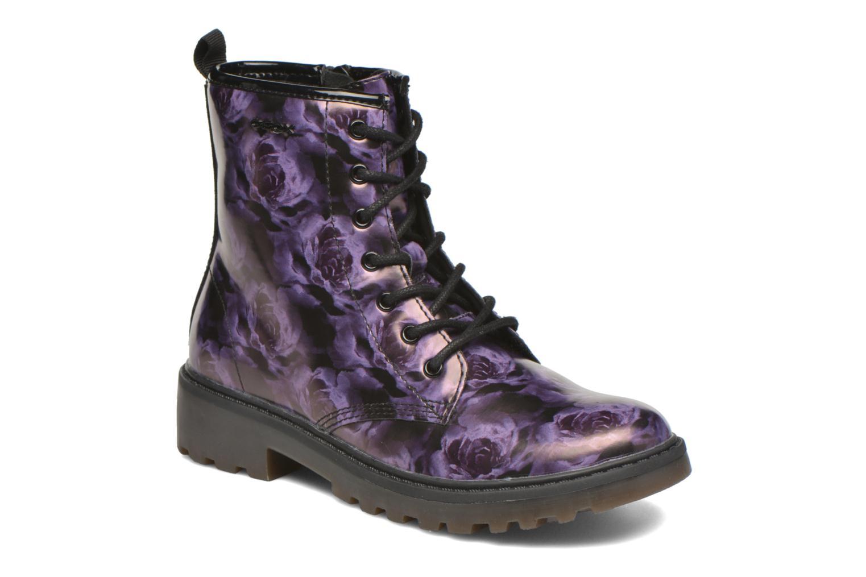 Bottines et boots Geox J Casey G. K J5420K Violet vue détail/paire