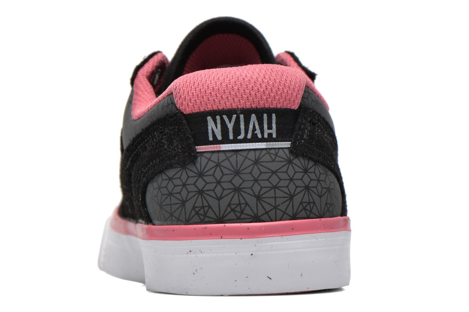 Trainers DC Shoes Nyjah Vulc SE W Black view from the right