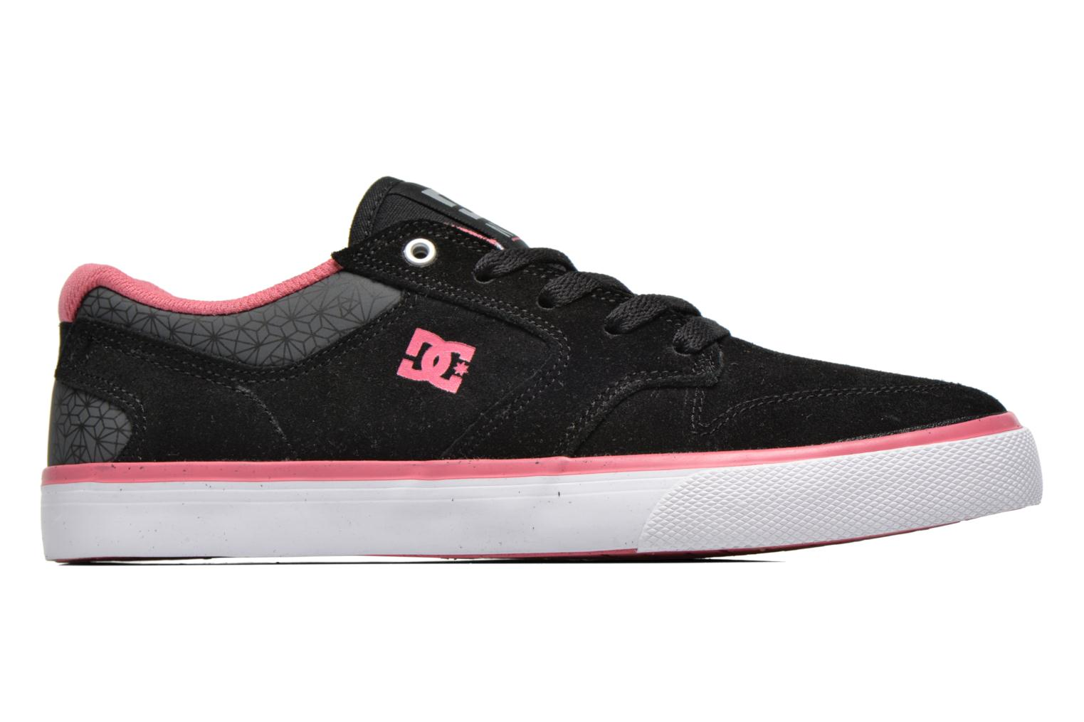 Trainers DC Shoes Nyjah Vulc SE W Black back view