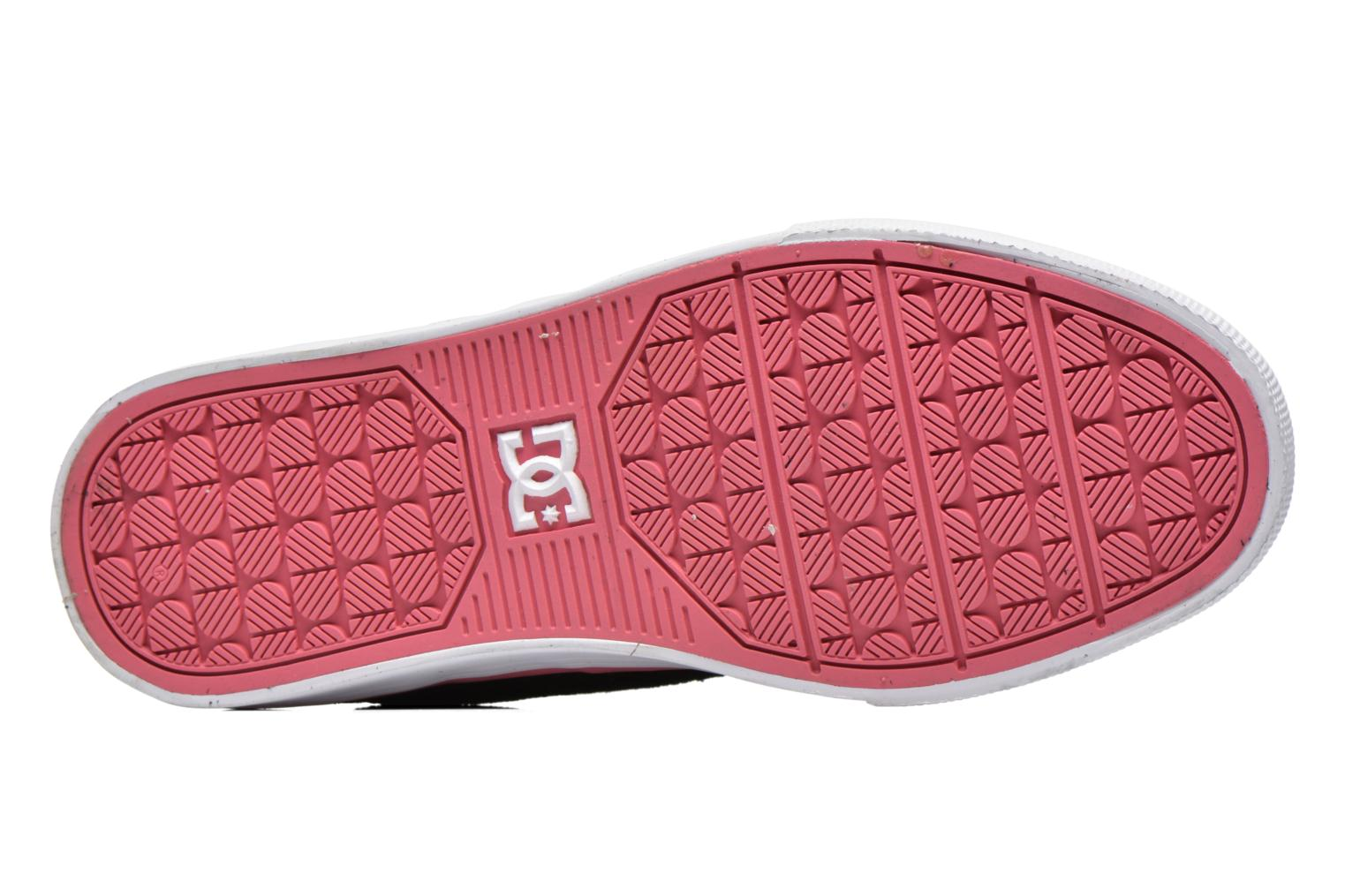 Trainers DC Shoes Nyjah Vulc SE W Black view from above
