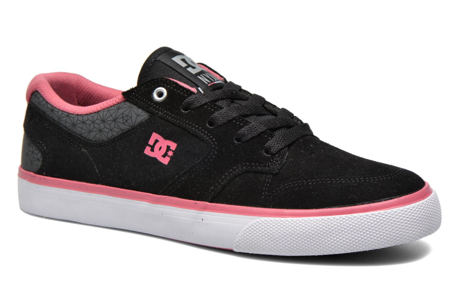Trainers DC Shoes Nyjah Vulc SE W Black detailed view/ Pair view