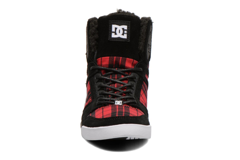 Baskets DC Shoes Rebound Slim High WNT Noir vue portées chaussures