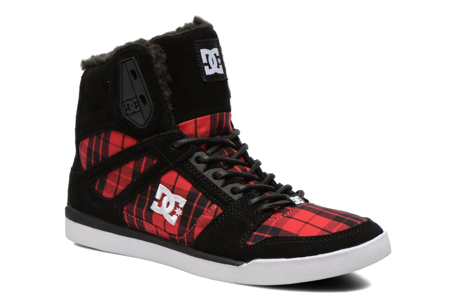 Baskets DC Shoes Rebound Slim High WNT Noir vue détail/paire