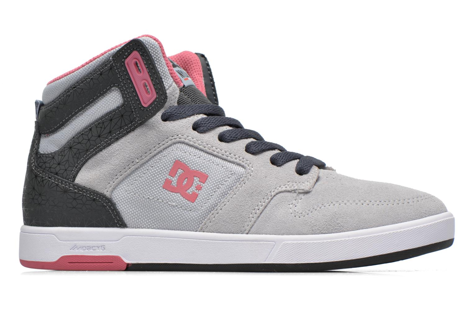 Trainers DC Shoes Nyjah High SE W Grey back view