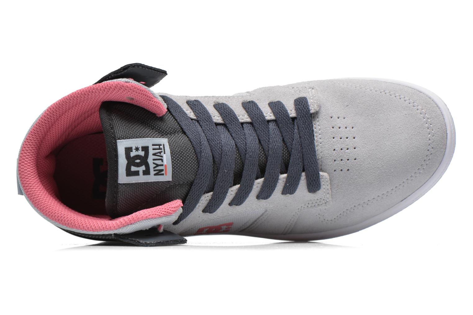 Trainers DC Shoes Nyjah High SE W Grey view from the left