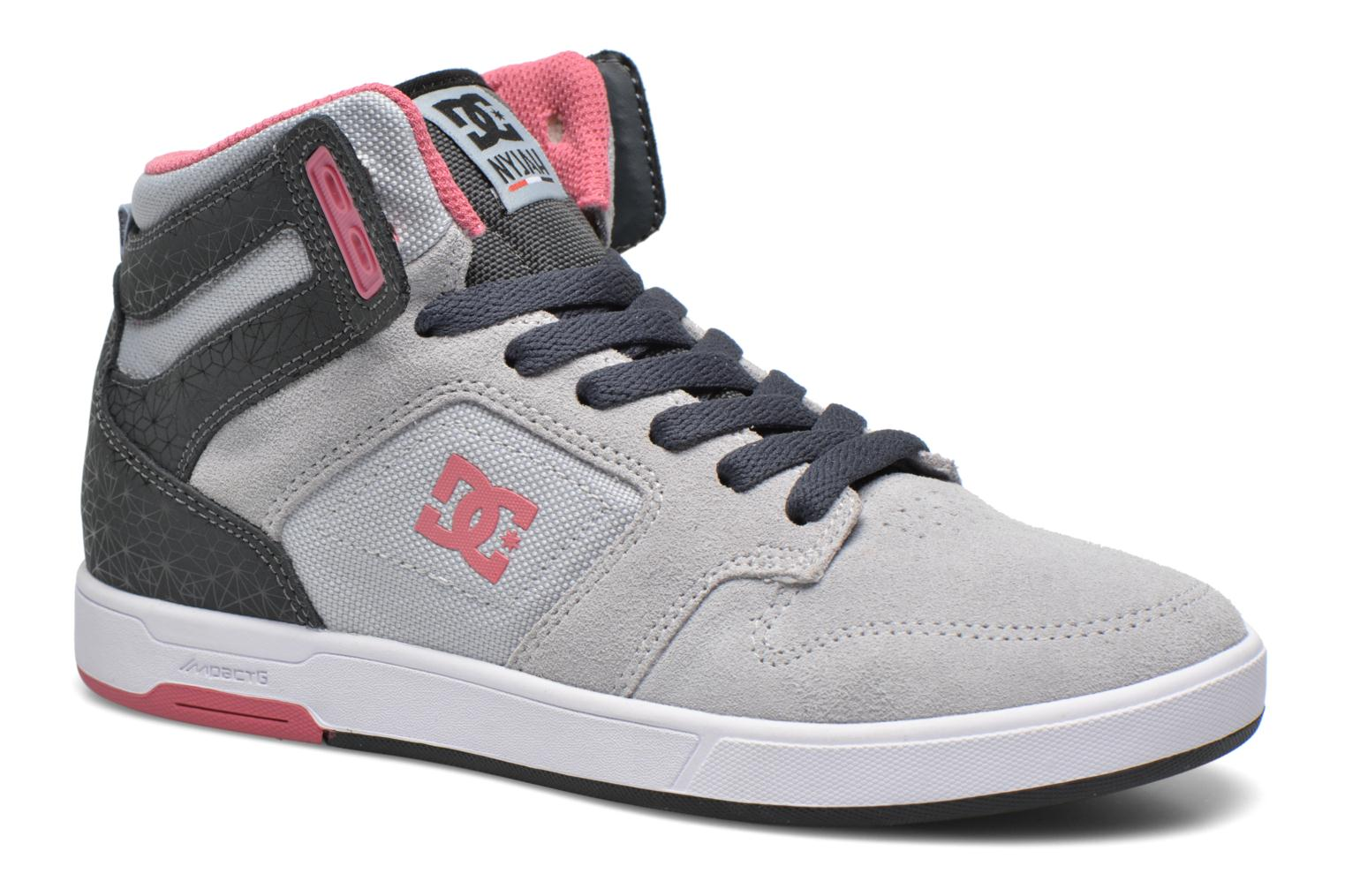 Trainers DC Shoes Nyjah High SE W Grey detailed view/ Pair view