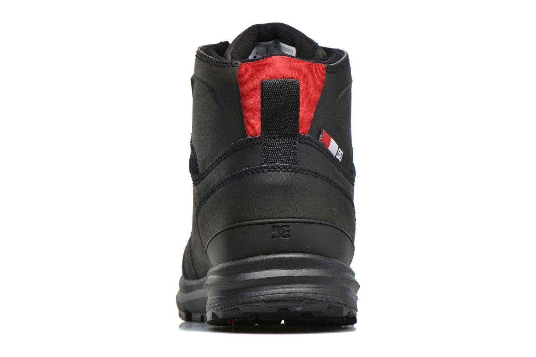 Sneaker DC Shoes Torstein schwarz ansicht von rechts
