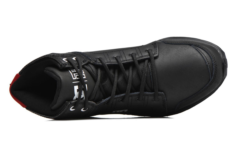 Deportivas DC Shoes Torstein Negro vista lateral izquierda