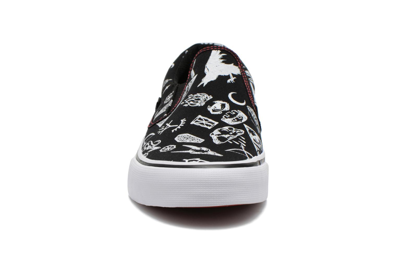 Deportivas DC Shoes Trase Slip-On SP Negro vista del modelo