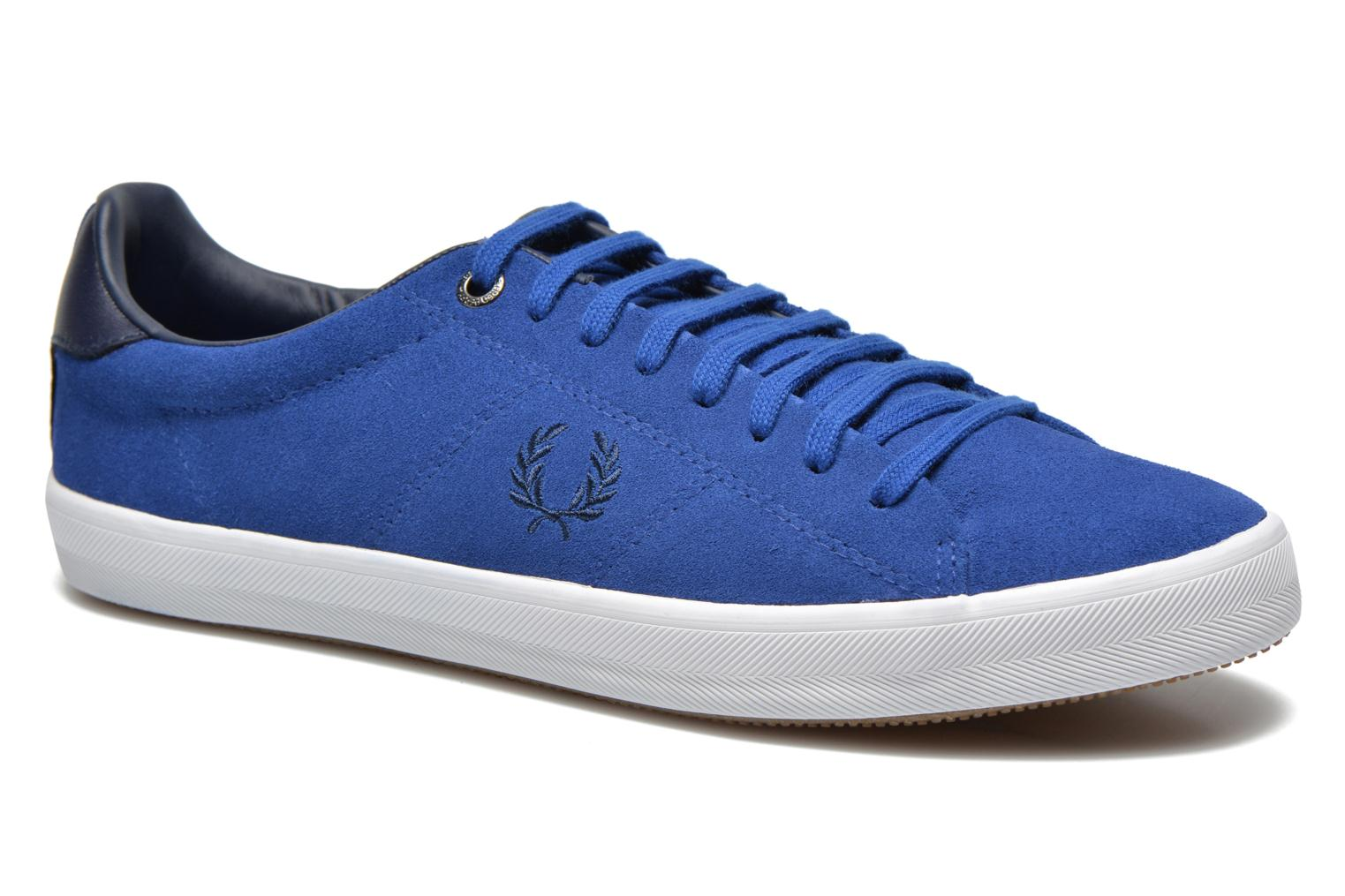 Sneaker Fred Perry Howells Suede blau detaillierte ansicht/modell