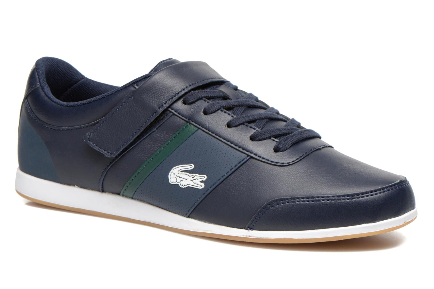 Trainers Lacoste Embrun Rei Blue detailed view/ Pair view
