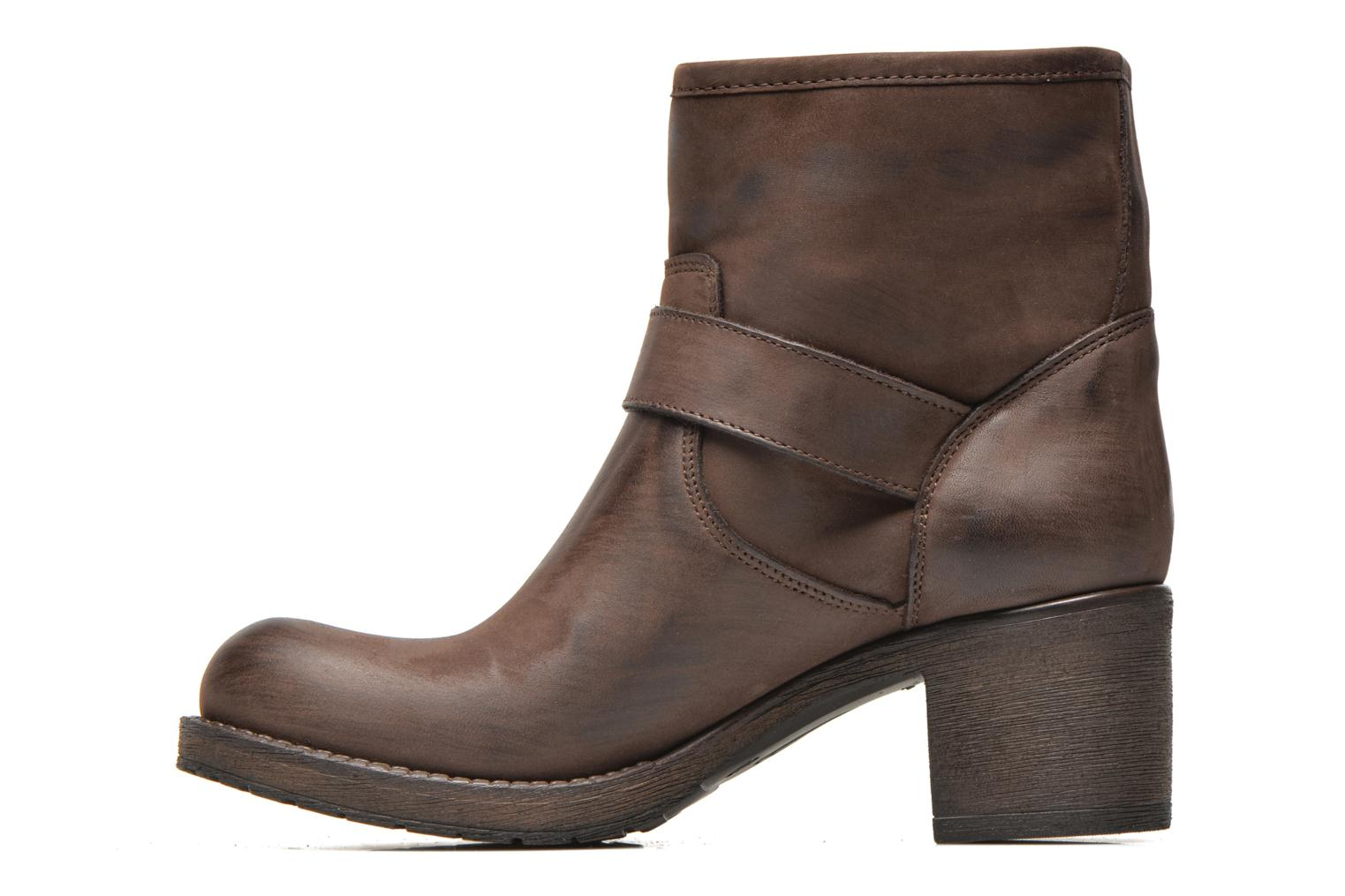 Ankle boots Georgia Rose Malix Brown front view