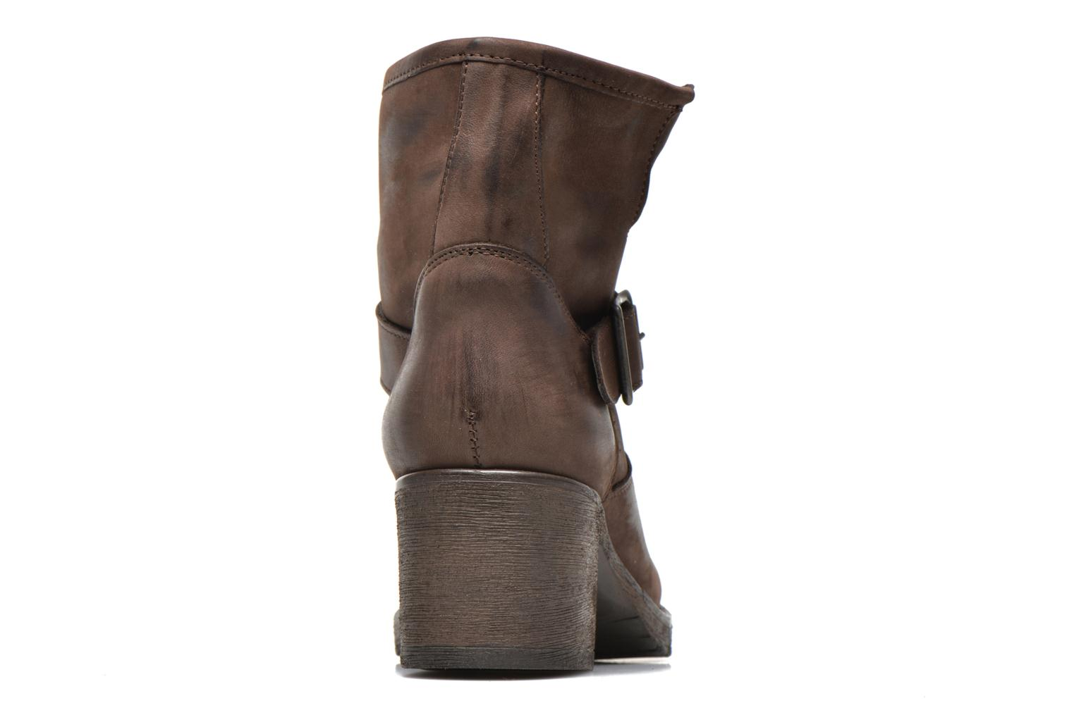 Ankle boots Georgia Rose Malix Brown view from the right