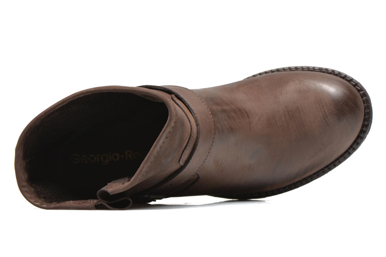 Bottines et boots Georgia Rose Malix Marron vue gauche