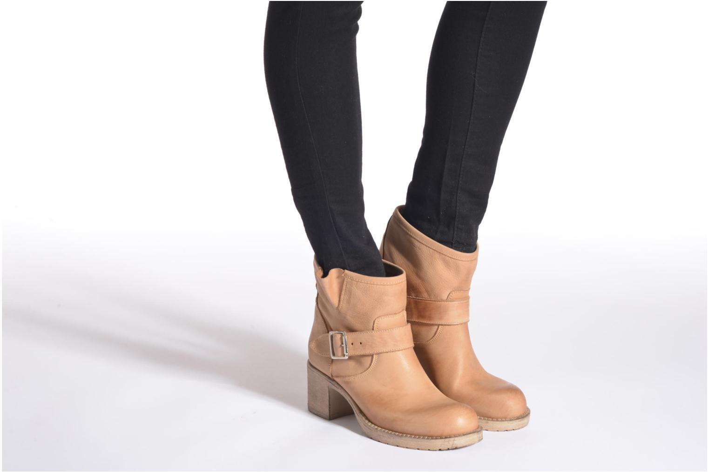 Stiefeletten & Boots Georgia Rose Malix beige ansicht von unten / tasche getragen