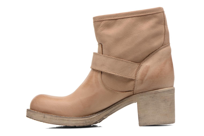 Bottines et boots Georgia Rose Malix Beige vue face
