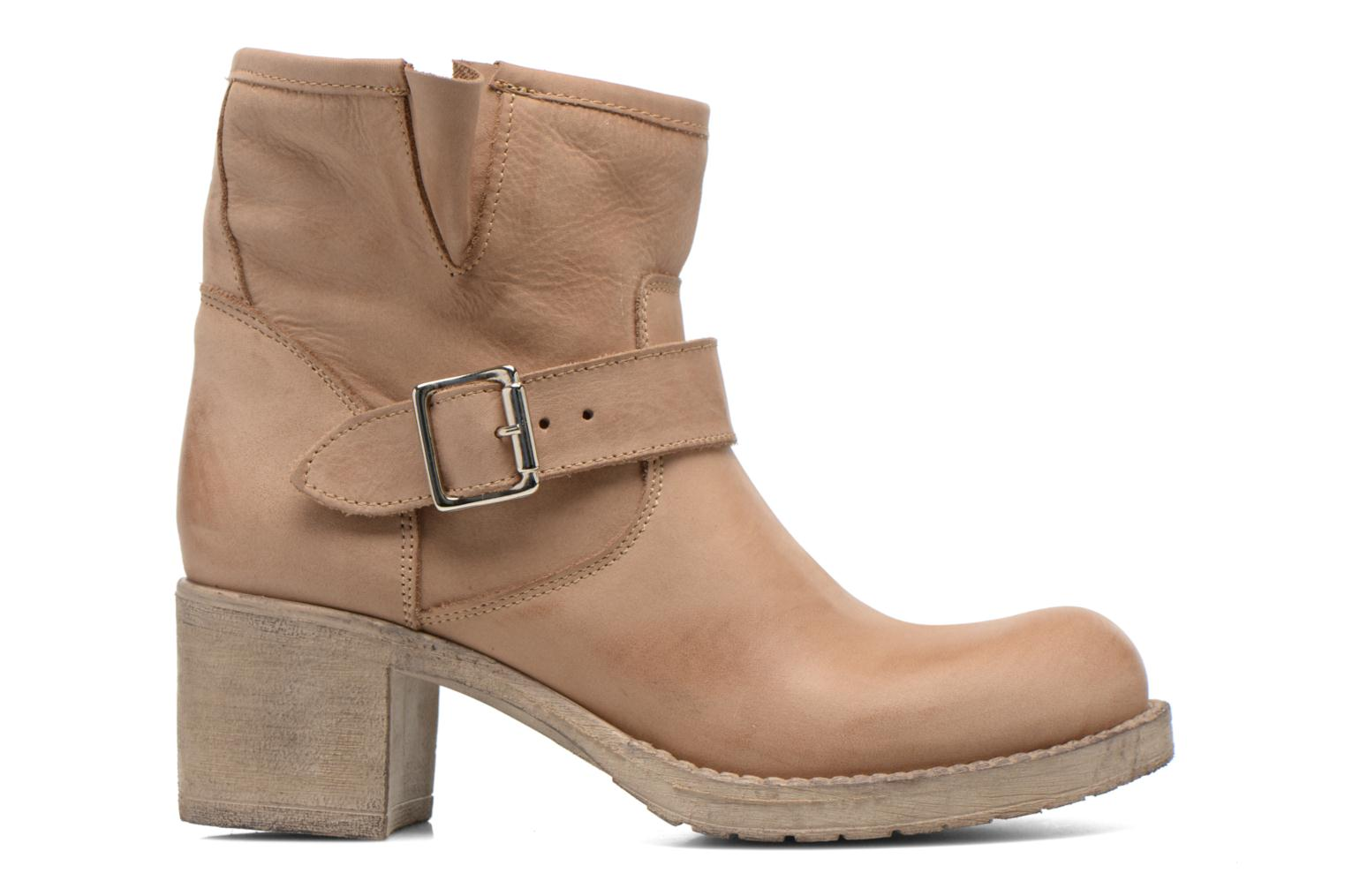 Ankle boots Georgia Rose Malix Beige back view