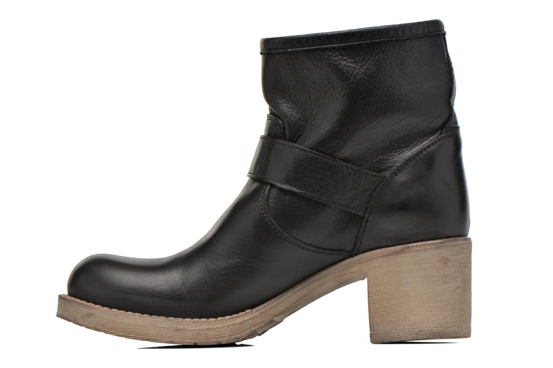 Bottines et boots Georgia Rose Malix Noir vue face