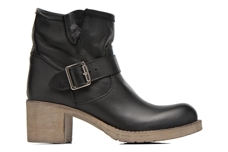 Bottines et boots Georgia Rose Malix Noir vue derrière