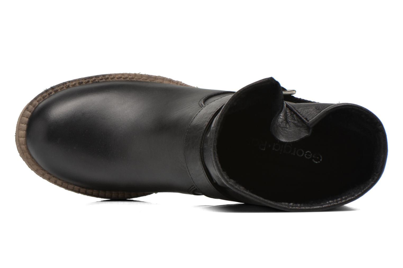 Bottines et boots Georgia Rose Malix Noir vue gauche