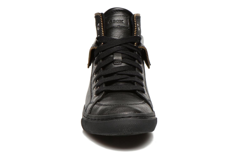 Sneaker Geox D NEW CLUB D D5458D schwarz schuhe getragen