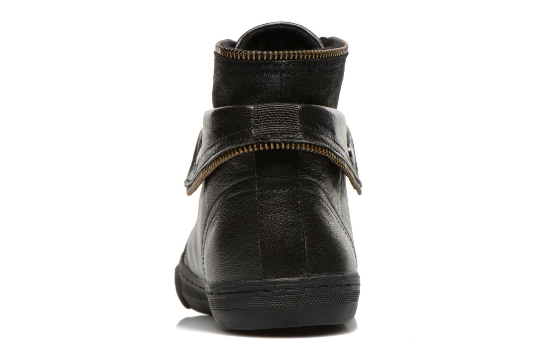 Sneakers Geox D NEW CLUB D D5458D Zwart rechts