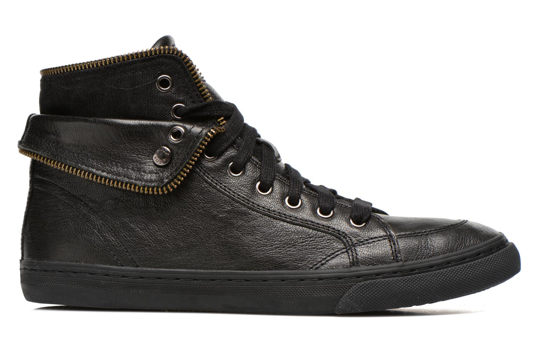 Sneaker Geox D NEW CLUB D D5458D schwarz ansicht von hinten