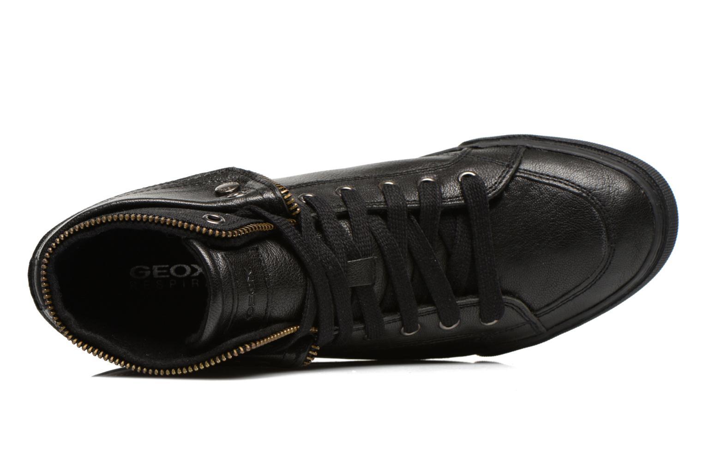 Sneakers Geox D NEW CLUB D D5458D Zwart links