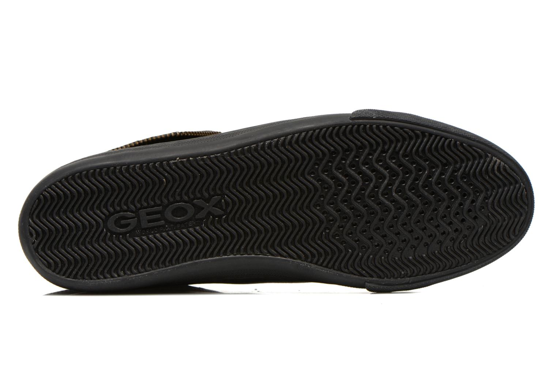 Sneaker Geox D NEW CLUB D D5458D schwarz ansicht von oben