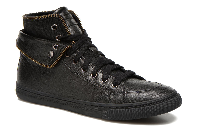 Sneaker Geox D NEW CLUB D D5458D schwarz detaillierte ansicht/modell