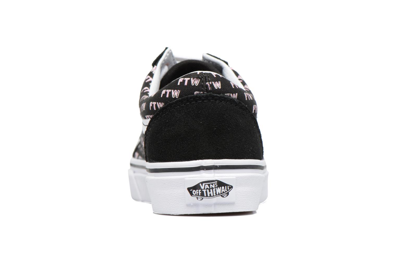 Sneakers Vans Old Skool E Svart Bild från höger sidan