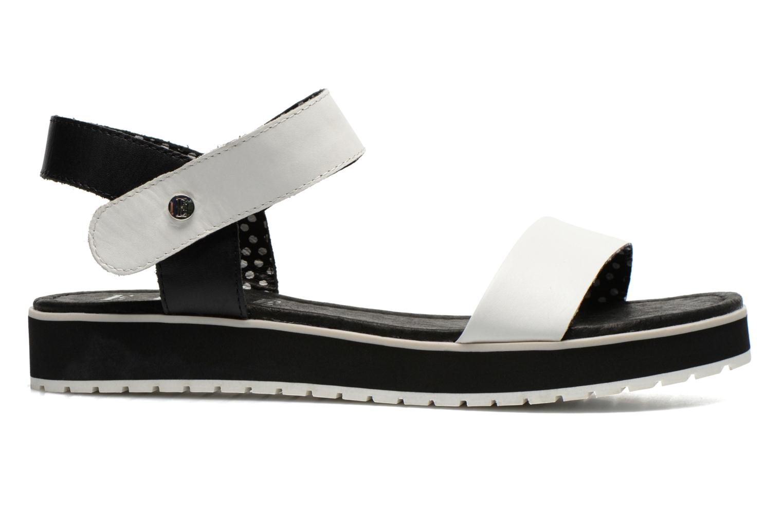 Sandales et nu-pieds Elle Corot Blanc vue derrière