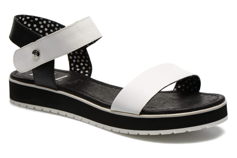 Sandales et nu-pieds Elle Corot Blanc vue détail/paire