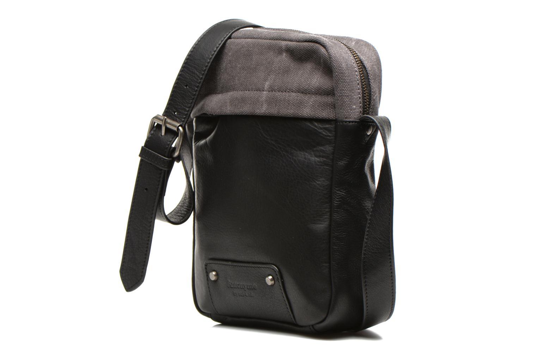 Men's bags Antonyme by Nat & Nin Matteo Grey model view