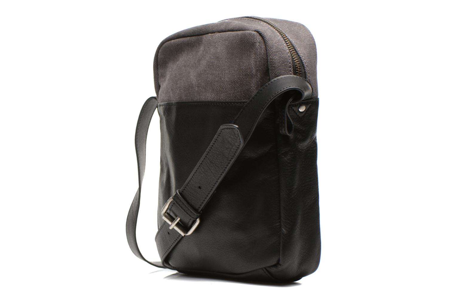 Men's bags Antonyme by Nat & Nin Matteo Grey view from the right
