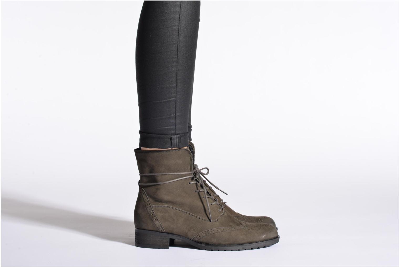 Bottines et boots Gabor Alcina Gris vue bas / vue portée sac