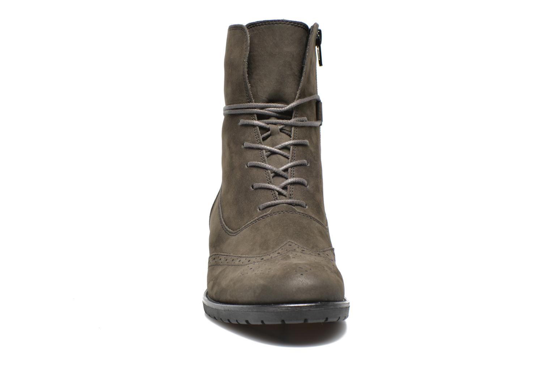 Stiefeletten & Boots Gabor Alcina grau schuhe getragen